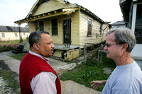 Rev. Fred Luter Jr. works with Samaritan's Purse