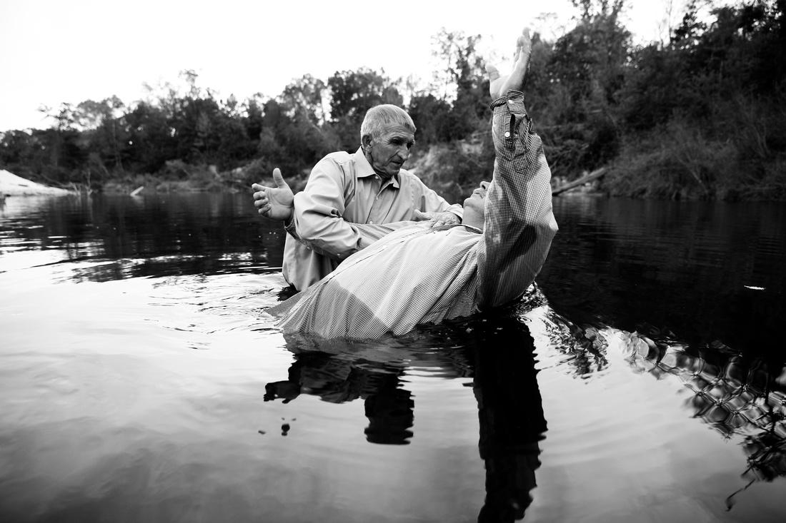 Mississippi river baptism